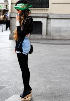 Boho winter outfit