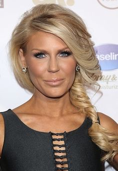 gretchen rossi has blonde coloring I actually like but never for myself