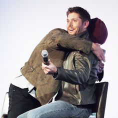 """""""I don't care how much longer Chris Hemsworth's hair is. You're my Thor."""" - Jensen Ackles"""