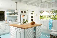 Key West kitchen from Coastal Living