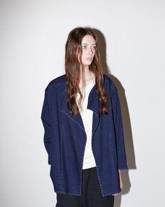 MODERNE | Denim Kimono Jacket | Shop at La Garçonne