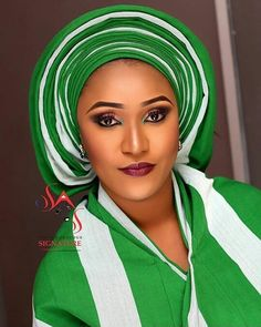 It's all about Nigeria's Independence Day  #asoebi #asoebispecial #speciallovers #wedding #makeoverby @sagsignature