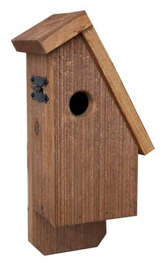 Rustic Barn wood BLUE BIRD House Amish Made in USA Handcrafted -NOT cheap imported Chinese product Aprox 4 lbs 6 inches wide x 10 inches high Rustic Reclaimed Barn wood style *DOES NOT SHIP TO ALASKA OR HAWAII