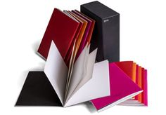 Divisare red notebook