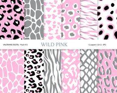 Animal Print Digital Paper Pack for by ValerianeDigital on Etsy  https://www.etsy.com/listing/125453592/animal-print-digital-paper-pack-for?ref=shop_home_active_16
