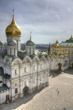 The Archangel's Cathedral, Kremlin, Moscow, Russia
