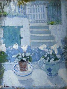 White Cyclamen. Anne Redpath