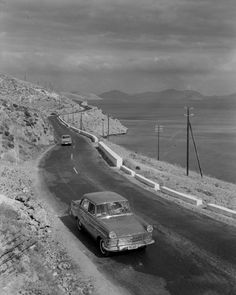 Old National Road: Athens (Attica) - Patra (Peloponnese) Greece Greece Pictures, Old Pictures, Old Photos, Vintage Photos, Greece History, Old Greek, National Road, Greece Photography, Good Old Times