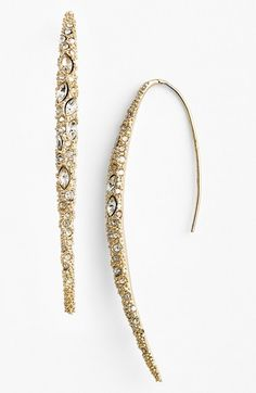 Free shipping and returns on Alexis Bittar 'Miss Havisham' Encrusted Drop Earrings at Nordstrom.com. Edgy spear-inspired earrings get a fiercely beautiful upgrade from a glittering coating of Swarovski crystals.