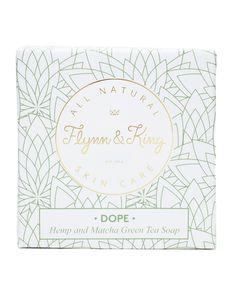 DOPE Hemp and Matcha Green Tea Soap