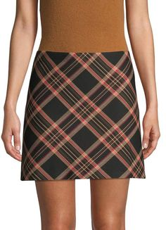 Trina Turk Tartan Plaid Mini Skirt Plaid Mini Skirt, Mini Skirts, Trina Turk, Tartan Plaid, Fashion, Moda, Fashion Styles, Mini Skirt, Fashion Illustrations