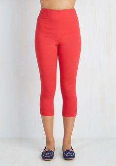 Jive Got a Feeling Pants in Red, @ModCloth