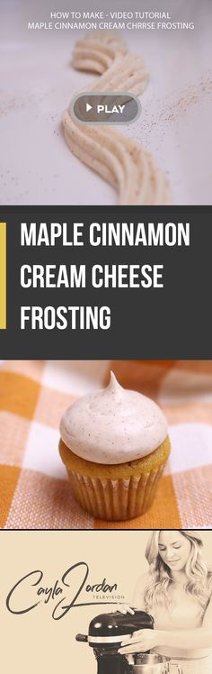 Love this frosting recipe!! It goes amazing with pumpkin, ginger bread and white cake:) Just makes everything so much more festive. Watch this video tutorial on how to make this maple cinnamon cream cheese frosting.Happy Baking!