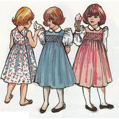 #67 Mary De - Children's Corner Patterns Love love love this dress. Keegan had several, can't wait for Presley to wear them!!