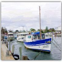 Mordialloc Boats digital Painting