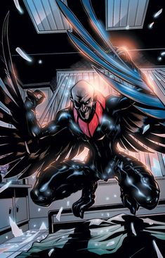 I love it when the Vulture wears the red and black suit and not the stupid all green suit because that's so unreasonible