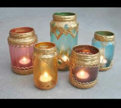 Moroccan Style Jar Lanterns