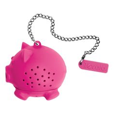 Tovolo Novelty Silicone Tea Infuser - Pig, Pink
