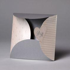 Hochzeitseinladungen, Edle Hochzeitskarten mit Umschlag, Hochzeitseinladung für Hochzeit, Einladungskarten