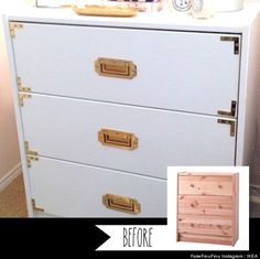IKEA hack - small solid pine dresser