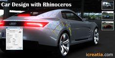 Car Design With Rhinoceros