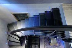 Cuir escalier suspendu