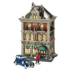 """Department 56: Products - """"The Prescott Hotel"""" - View Lighted Buildings  Wish list"""