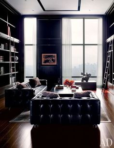 An interior is the natural projection of the soul. : Photo