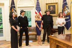 Sarah Palin cozies up to Trump and Jared Kushner in the White House Kid Rock, Jared Kushner, Sarah Palin, 2016 Presidential Election, Hockey Mom, All Kids, Cozy