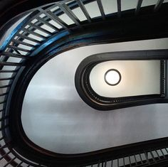 Neat shot of the staircase in UMMA's Alumni Memorial Hall by @borisr0ck. Tag your photos with #ummamuseum to share them with us!