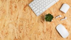 Top view of desk with keyboard and succulent #paid, , #AFFILIATE, #AFFILIATE, #view, #succulent, #keyboard, #Top Photography Backdrop Stand, Wooden Desk, Pen And Paper, Desk Organization, Top View, Free Photos, Bamboo Cutting Board, Keyboard, Coffee Cups