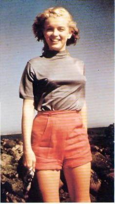 Norma Jeane (Baker) Mortenson (MM) Marilyn Monroe - http://dunway.com                                                                                                                                                      More