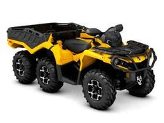 New 2016 Can-Am Outlander 6x6 XT 1000 ATVs For Sale in Tennessee. The tougher the terrain is, the better the characteristics of the Outlander 6x6 XT display. It sets a new standard in the segment by reaching previously impassable destinations.