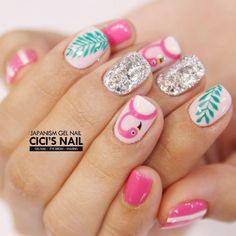 The Most Beautiful Flamingo Nail Art Designs - Nails C
