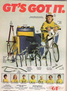 GT Vintage Ad BMX