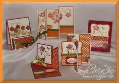 Stampin Up Card Folding Ideas   ... FOLDING CARDS   Stampin Up Demonstrator, Sandi MacIver, Stamping With