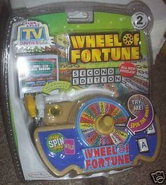BESTSELLER! Wheel of Fortune 2 TV Plug & Play Game $24.99