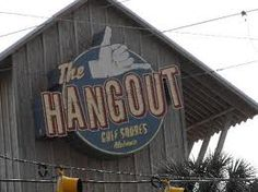 """The Hangout Gulf Shores Located on East Beach Blvd, menu favorites include the """"Shaka Shaka"""" shrimp and the Bama Burger. They also host  the annual Hangout Music Festival in May."""