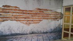 Eskitme Görünümlü Duvar Kaplama