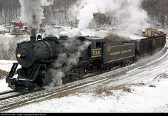 RailPictures.Net Photo: WM 734 Western Maryland Railroad Steam ...