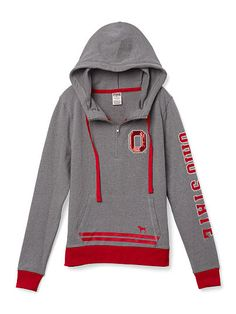 MUST HAVE!! ((kvg)) The Ohio State University Bling Pullover Hoodie - PINK - Victoria's Secret