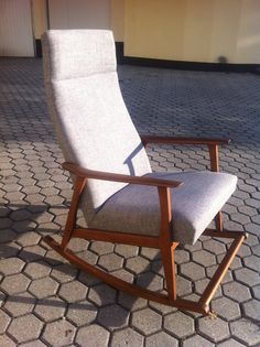 Rocking chair form the 60s