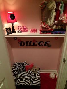 Totally love the zebra dog bed!!!(: (Dog Room)