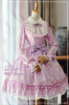 Dear Celine Alice Secret Garden lolita dress