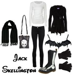 Mackenzie loves Jack!!!  have to show her this one...except I don't like the boots...THIS SITE DOES OUTFITS BASED ON DISNEY CHARACTERS