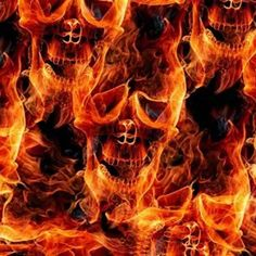 PLATINUM FIRE SKULLS HYDROGRAPHIC WATER TRANSFER HYDRO FILM DIP APE