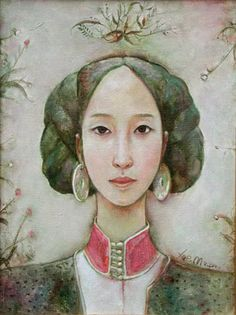 by Xue Mo (b1966 In Inner Mongolia, China; based In Canada)