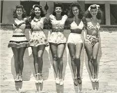 1940s beachwear - Google Search