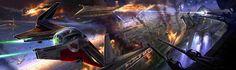 Space Battle  by Ryan Church