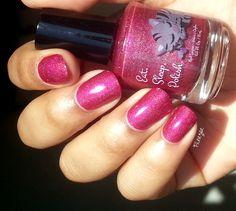 Eat Sleep Polish - Glitter Berry for My Kingdom For Glitters!